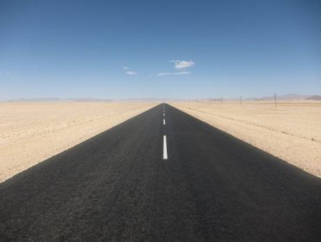 Namibia - on the road