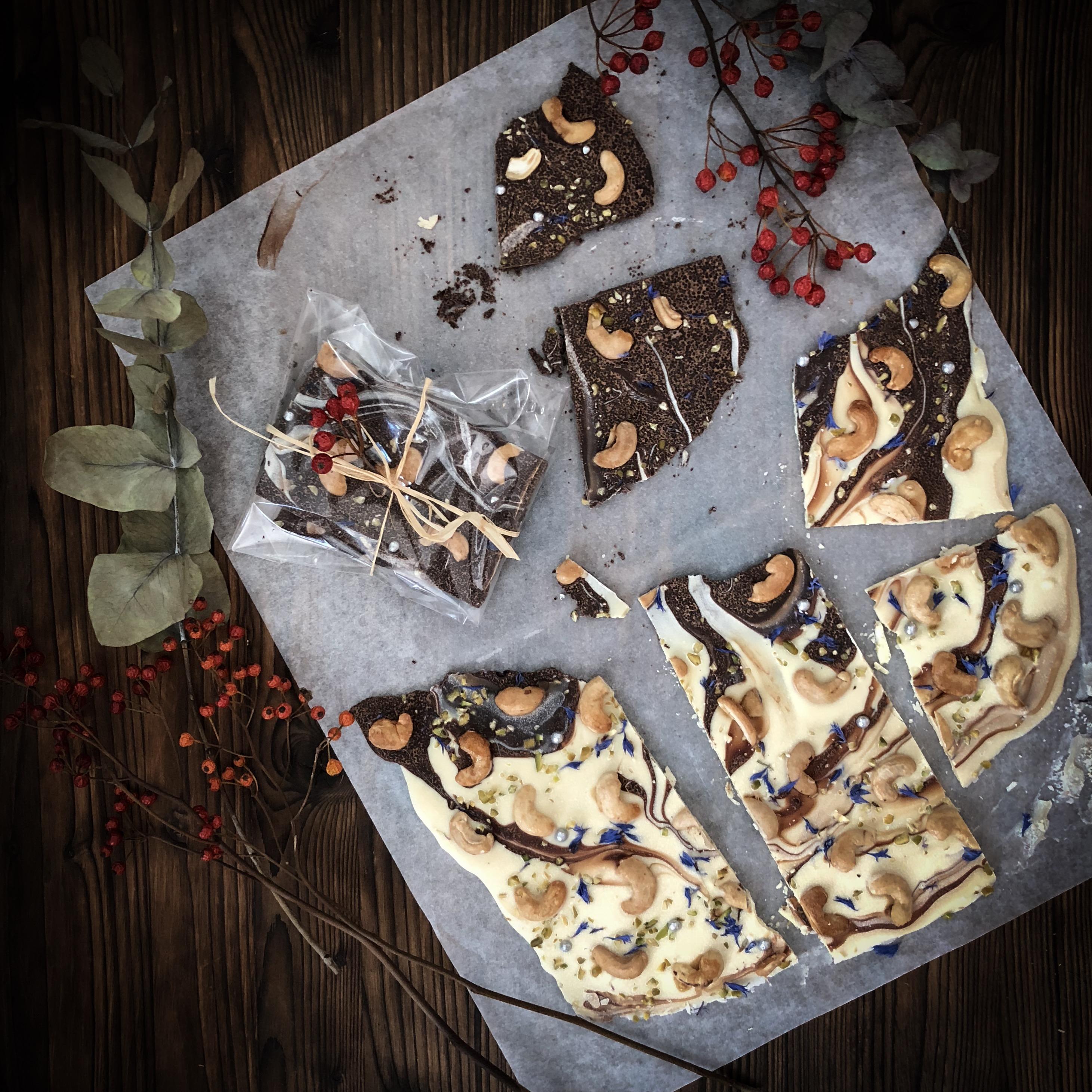 Geschenke Aus Der Kuche Selbstgemachte Schokoladentafeln Rezepte