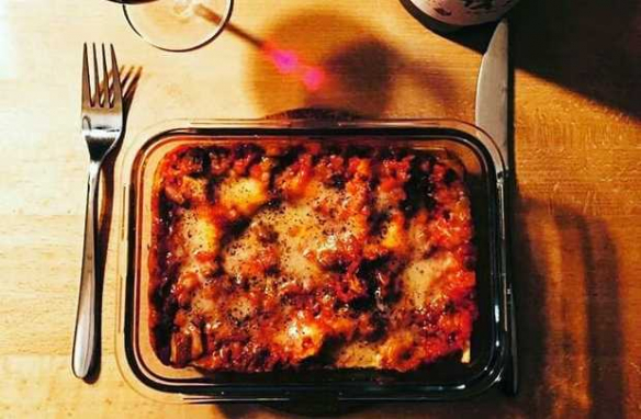 Eating: Lasagne Of The Times