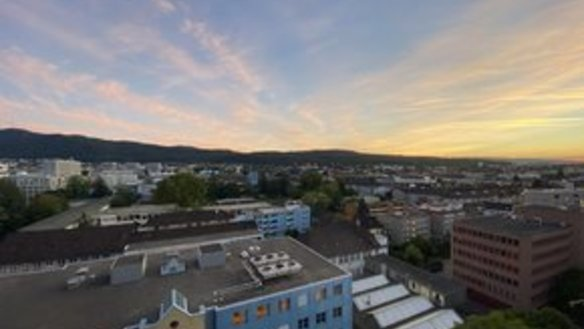 Subrent: 2.5 rooms furnished apartment with breathtaking view in Altstetten (4 months or more)
